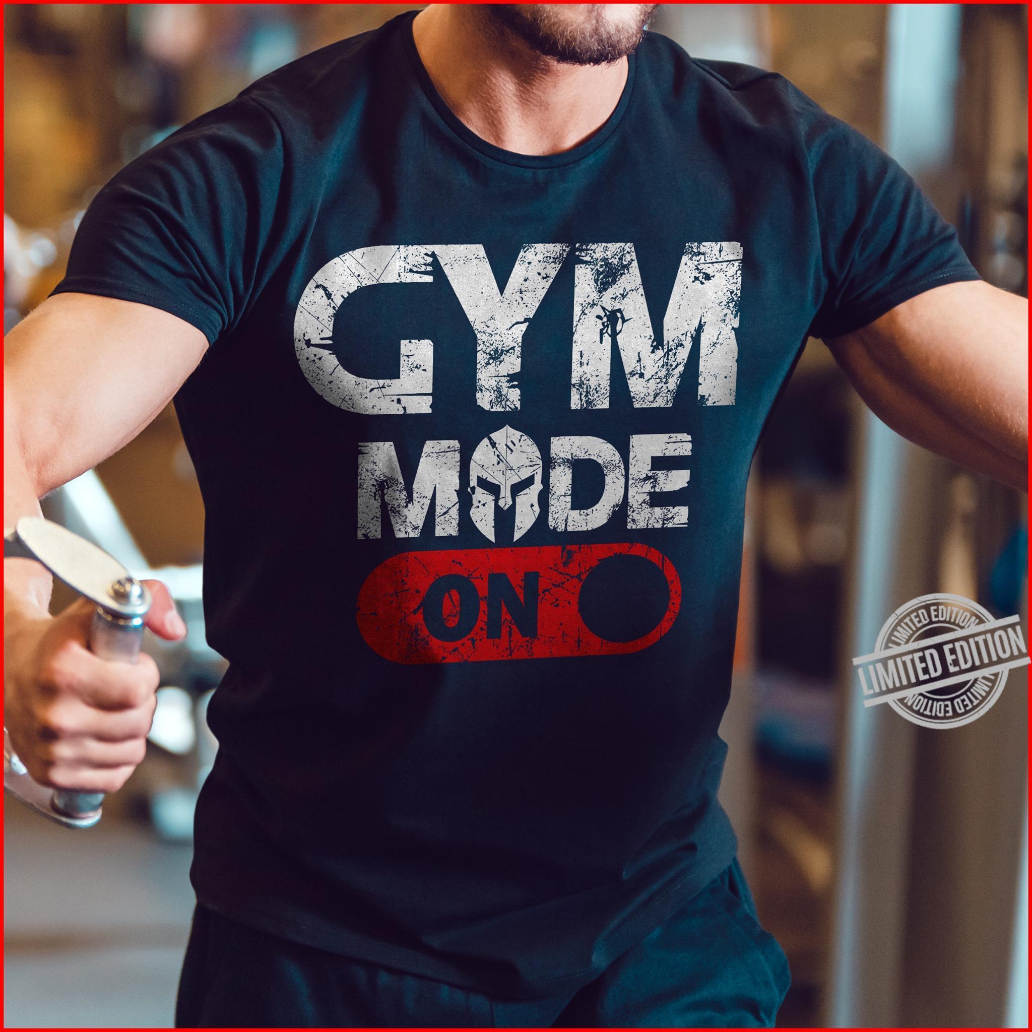 Gym Made On Shirt
