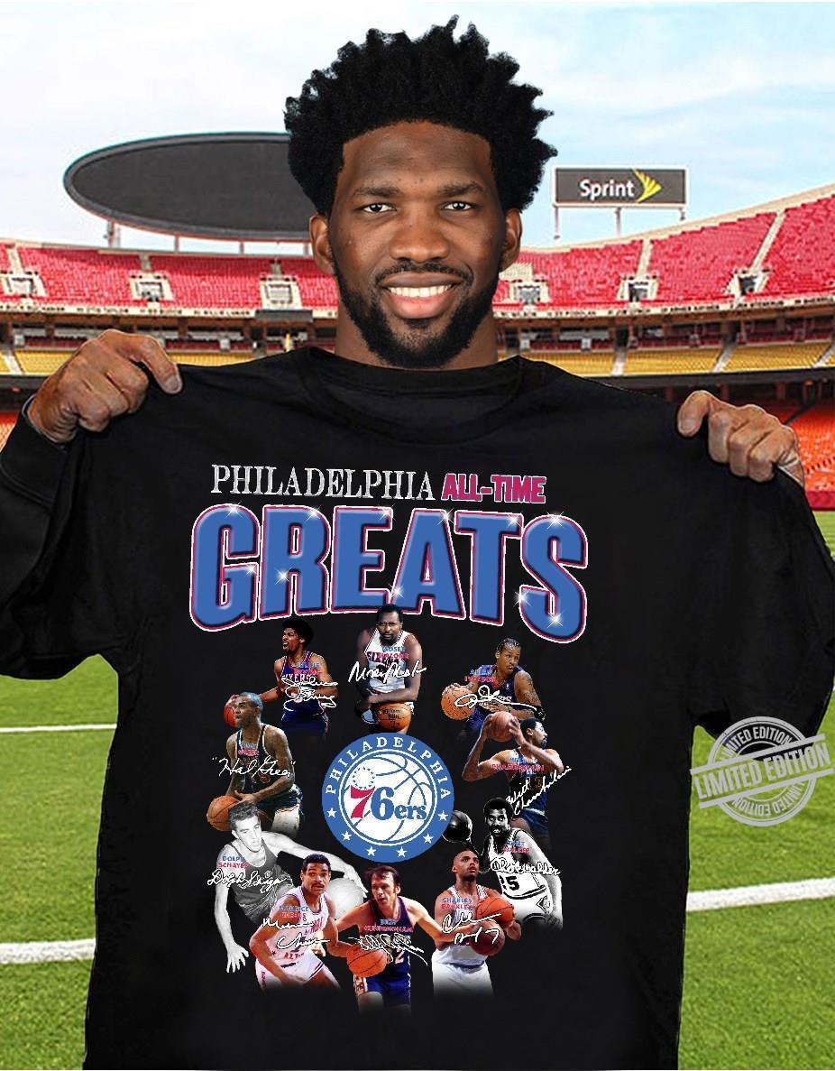 Philadelphia All-Time Greats Shirt