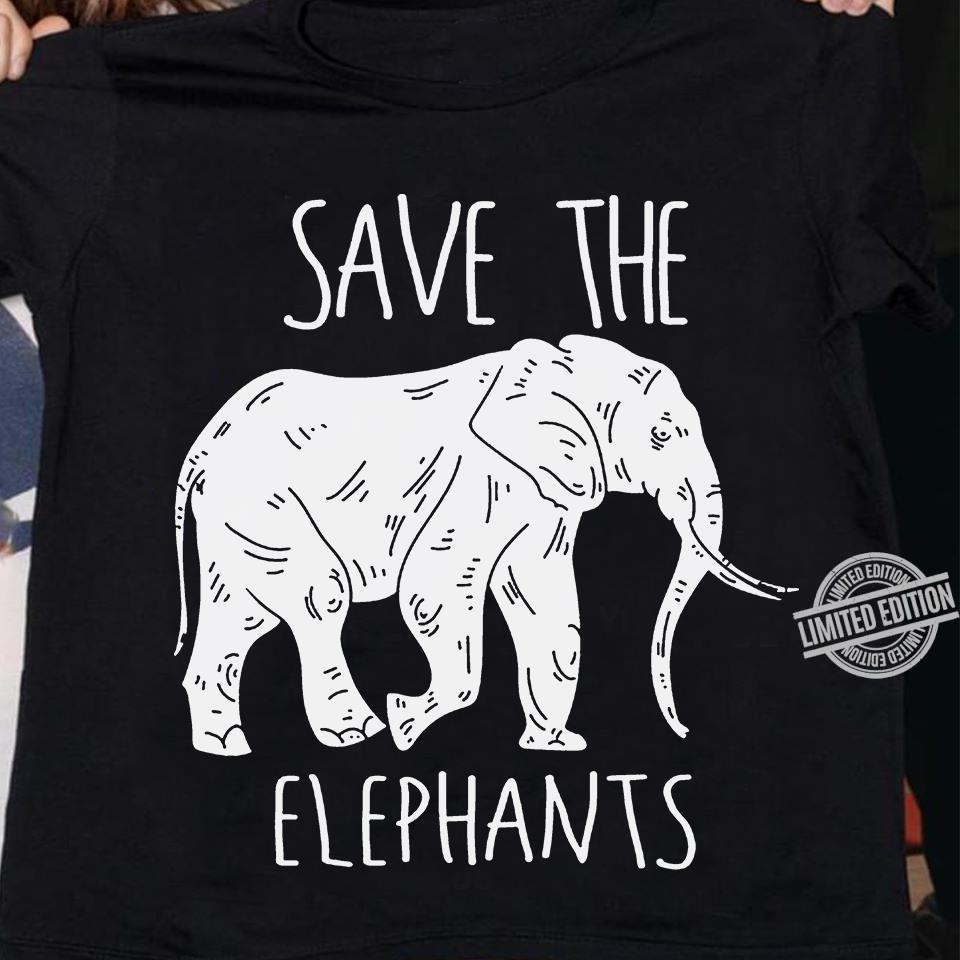 Save The Elaphants Shirt